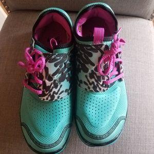 Under armour leopard tennis shoes